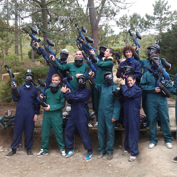 4. PAINTBALL